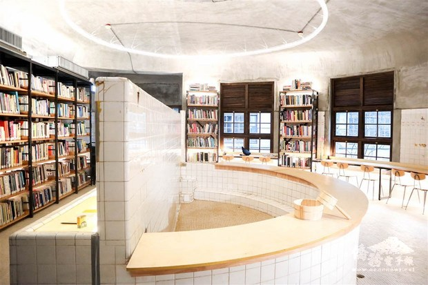 'Not Just Library' reopens at Songshan Creative and Cultural Park