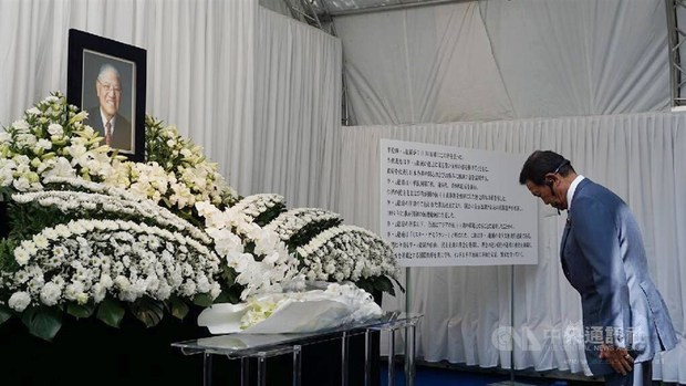 Japanese politicians pay respects to former President Lee Teng-hui