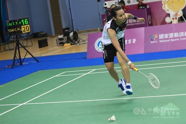 One day after exhausting victory, world No. 1 Tai falls to male foe