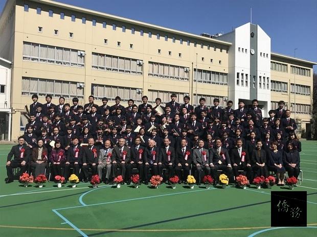 東京中華學校舉行106年度畢業典禮