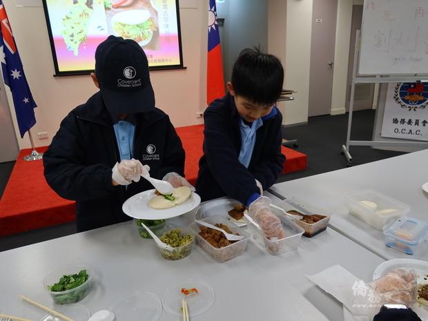 雪梨臺灣學校學生體驗臺灣古早味 鏈結臺灣在地文化