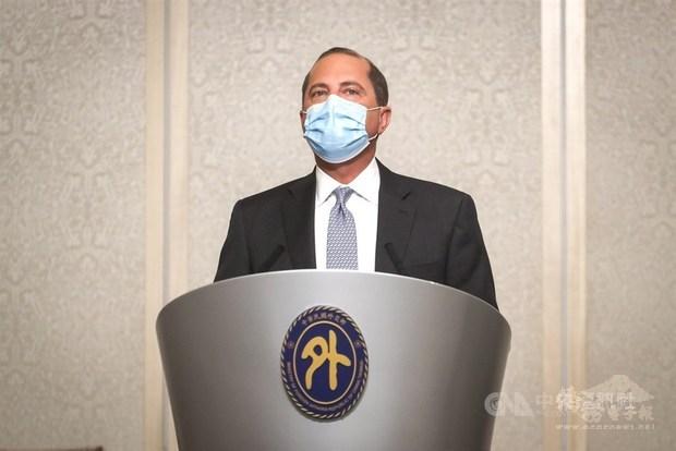 Azar backs Taiwan's participation in global health forums