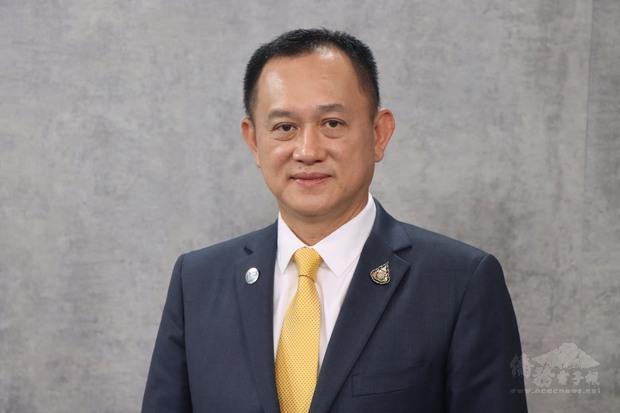 康樹德四度連任泰國外商聯合總會主席。(康樹德提供)