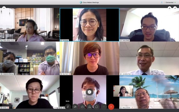 波士頓臺灣抗疫團隊視訊交流 分享僑區經驗