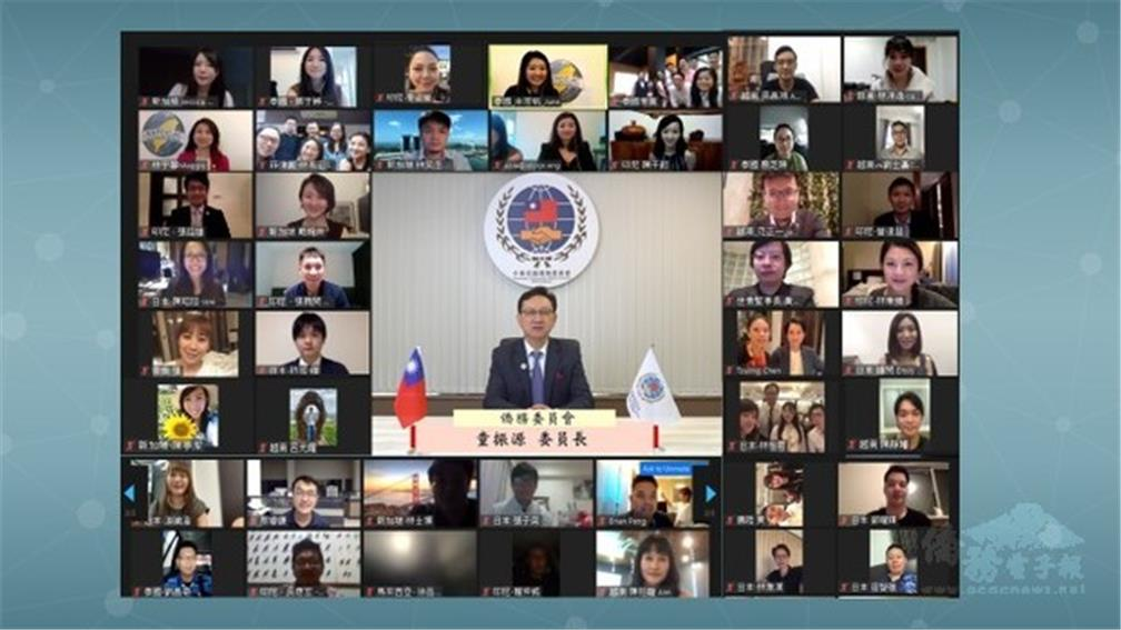 Lin Yu-xin, overseas compatriot from Thailand, was elected the president of The Asia Taiwanese Chambers of Commerce Junior Chapter