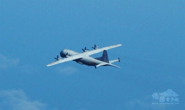 Chinese warplane again intrudes into Taiwan's ADIZ