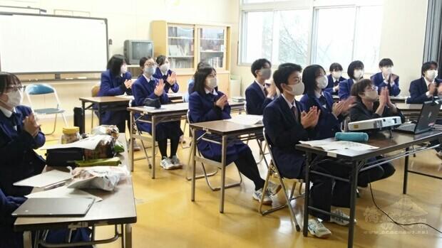 日岩手縣不來方高校、花蓮高中 視訊交流激發學習欲