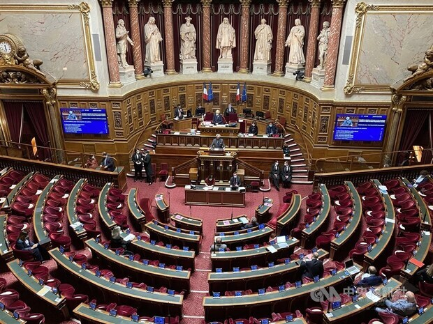 French Senate backs Taiwan's bid for wider international participation
