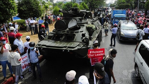 Taiwan's human rights commission calls for cease to Myanmar violence