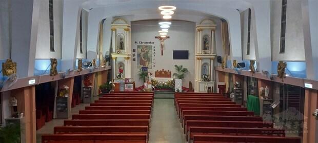 Saint Christopher's Church. Photo courtesy of Father Hendrikus Arianto Ukat, CS