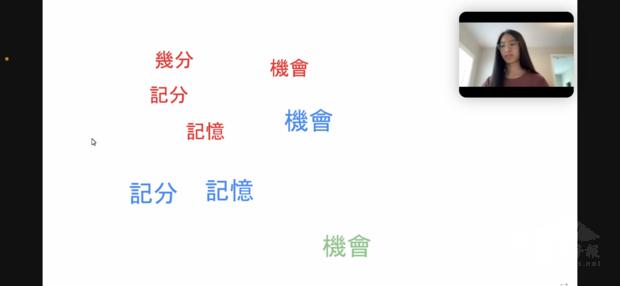 八年級沈珠嫣漢字書寫比賽