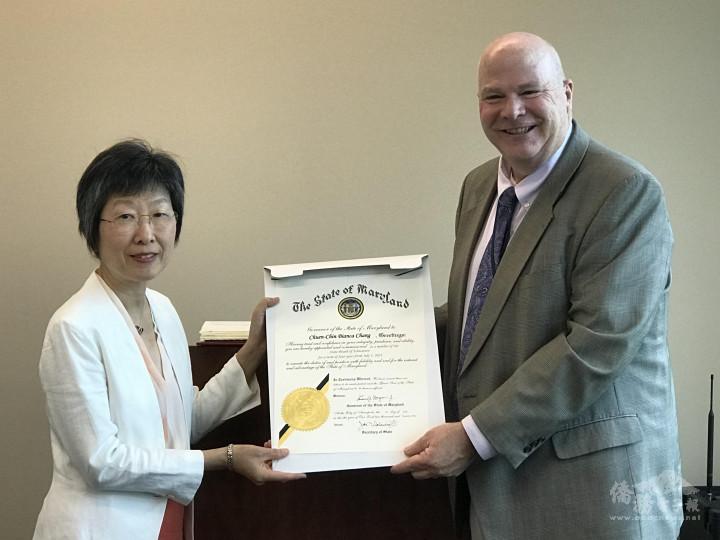郭純岑任馬里蘭州教育委員 致力推動華語文教育受到肯定