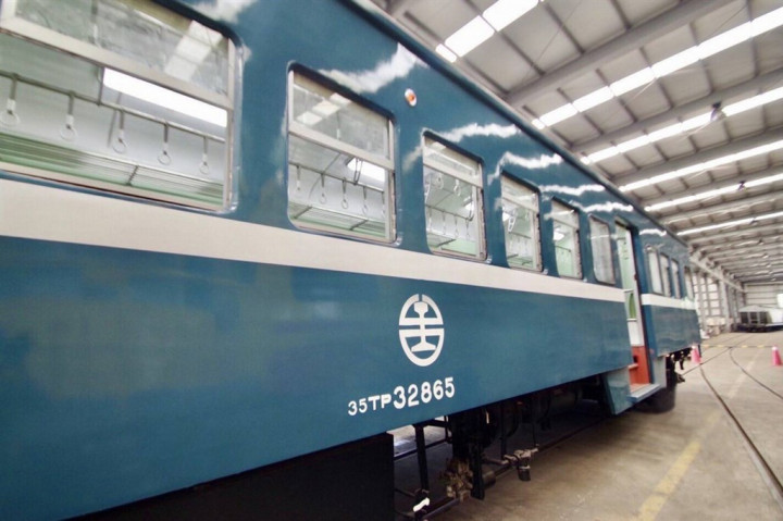 TRA's vintage 'blue trains' to resume operations on Oct. 23