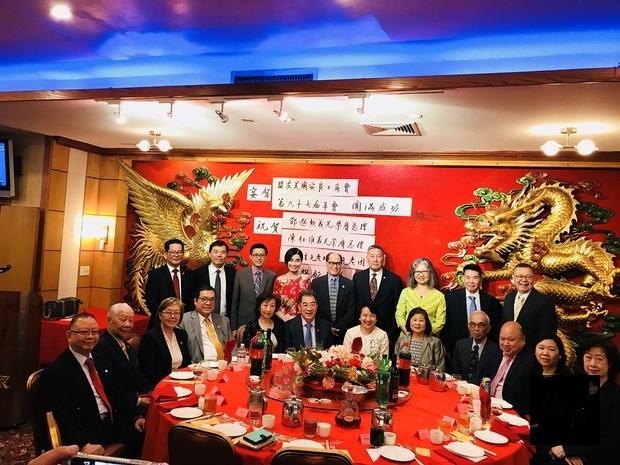 鄧遐勳陳仕維接任美國安良工商會總理