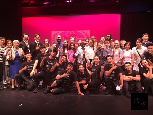 FOCA福爾摩沙馬戲團底特律公演圓滿成功