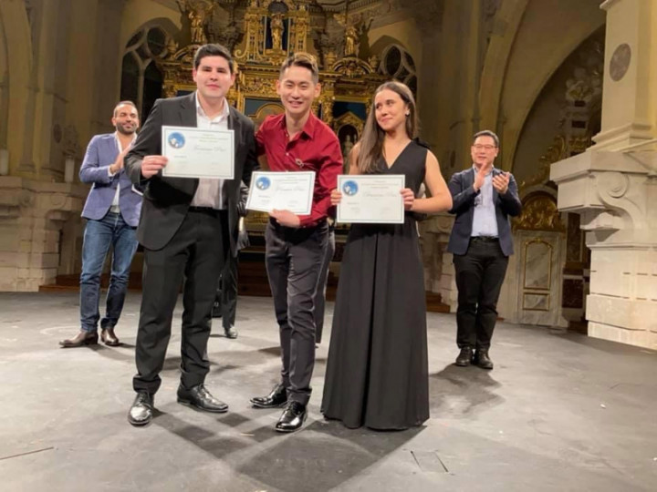 賴俊諺獲法藍瑟勒單簧管大賽首獎 靠心經定神