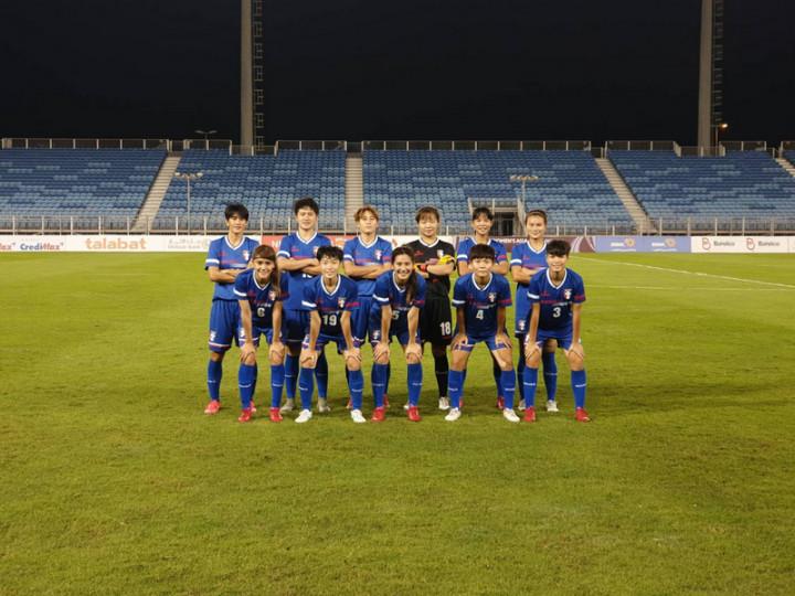 台灣女足勝巴林 睽違14年重回亞洲盃會內賽