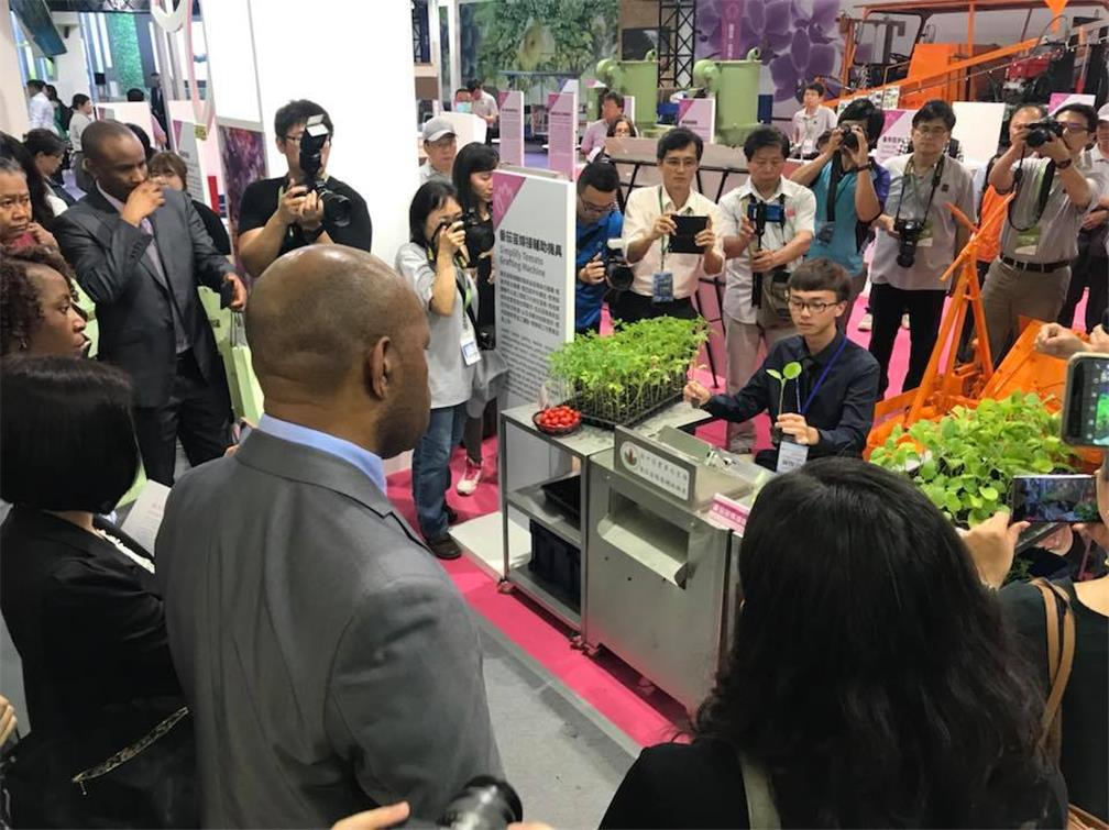 Students in Taoyuan Agriculture Expo 3