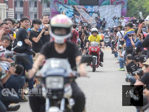 Owners protest restrictions on two-stroke vehicles