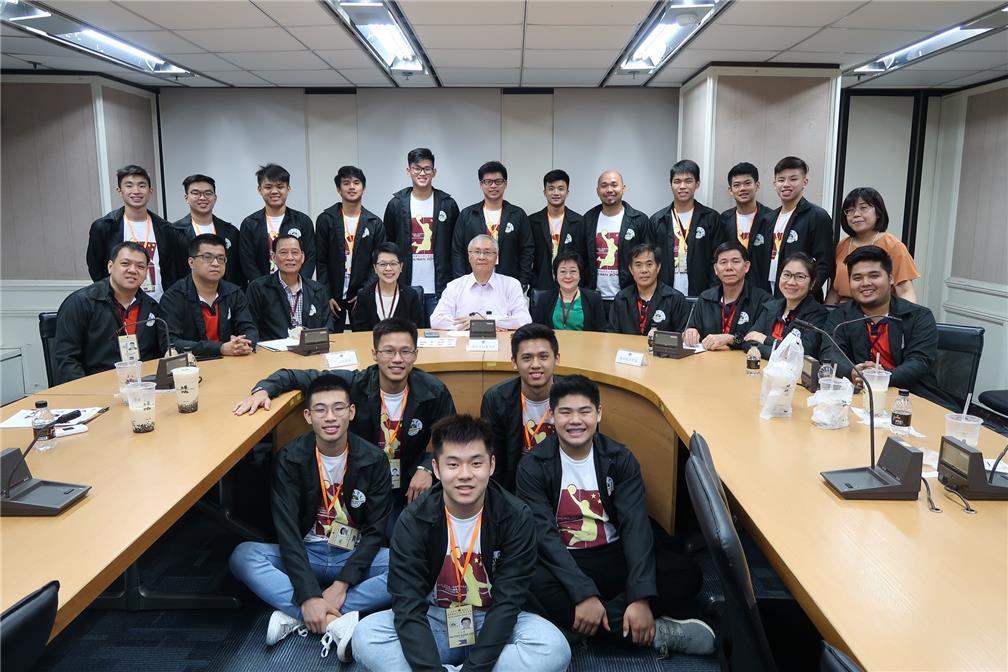 The Philippine Ching Yuen Athletic Association visited OCAC on June 12