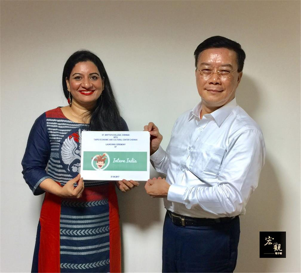 Taiwan, India launch 'Intern India' program for Taiwanese students