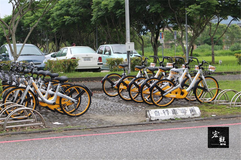 Singaporean oBike services launched in Taitung City