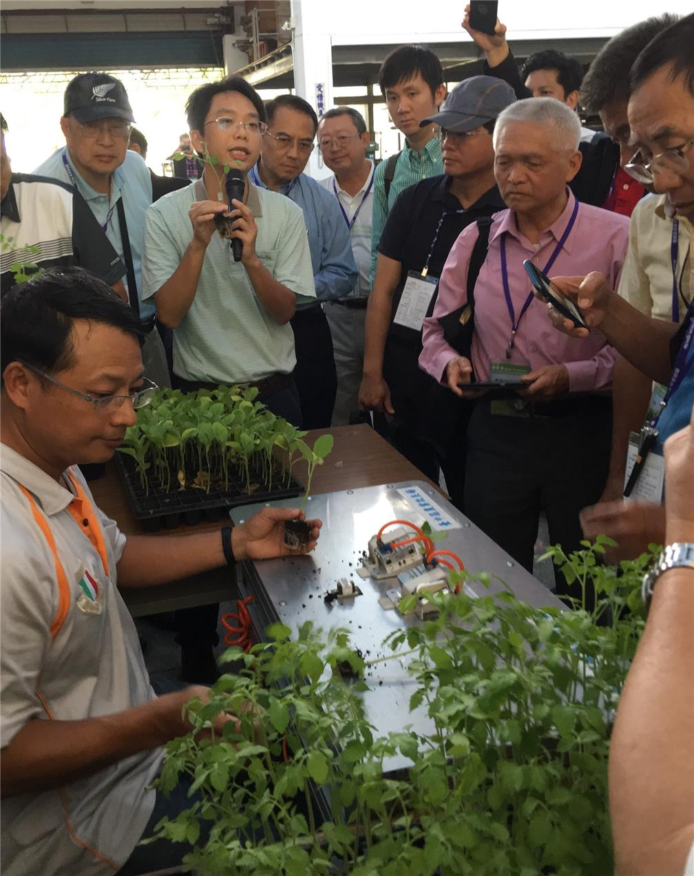 A visit to Taichung District Agricultural Research and Extension Station