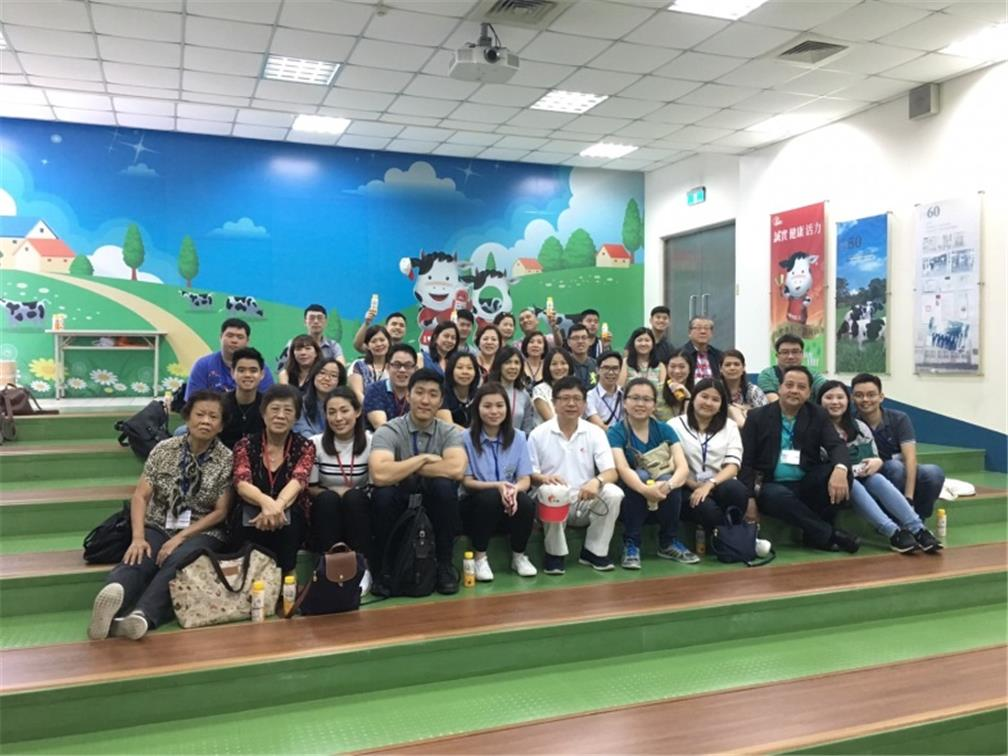 Visiting Kuang Chuan Dairy Co., Ltd