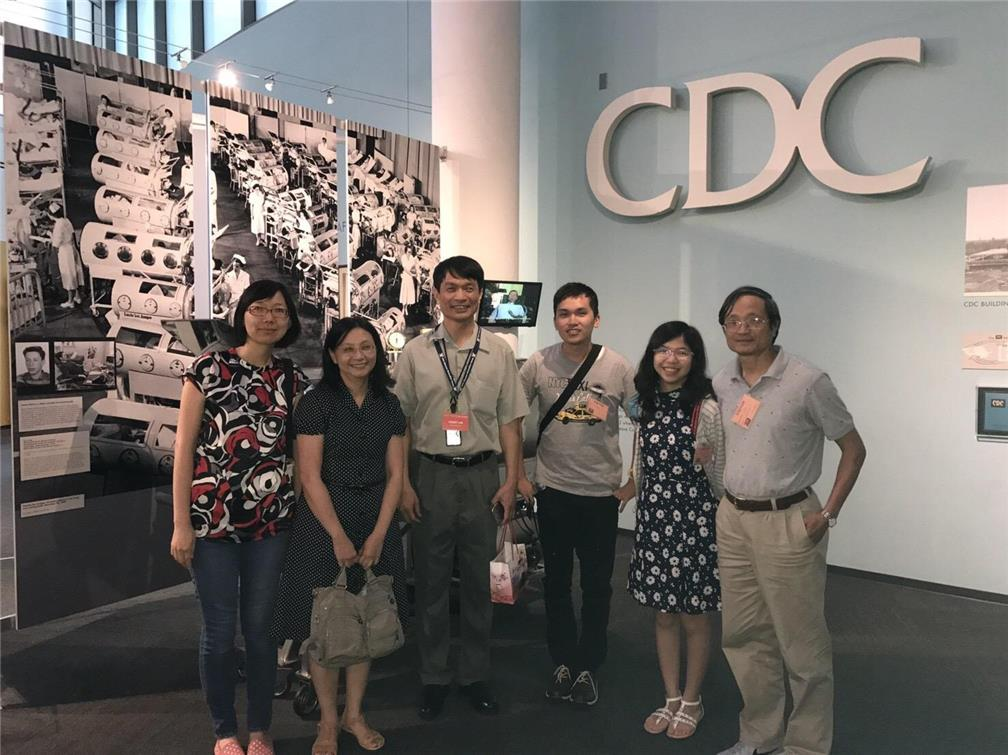 The delegation visits Centers for Disease Control and Prevention.