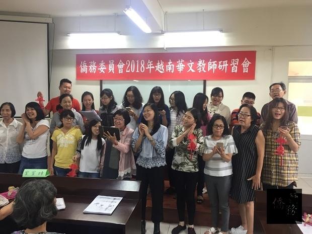 7月20日舉行學習成果展及結業典禮,學員們將一個星期來的研習成果以生動活潑的唱歌方式展現出來。