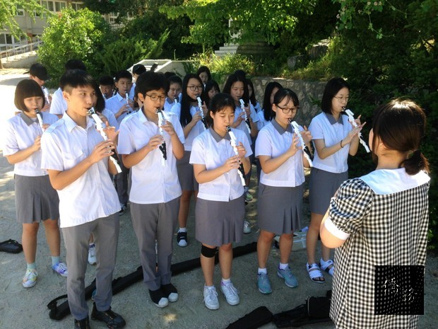 漢城華僑中學展開新學年