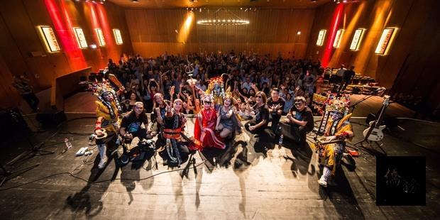 國慶文化訪問團感謝所有僑胞志工大力支持與參與。