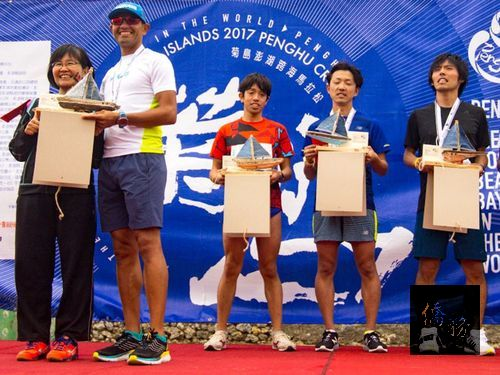 American runner wins Penghu cross-sea marathon men's event