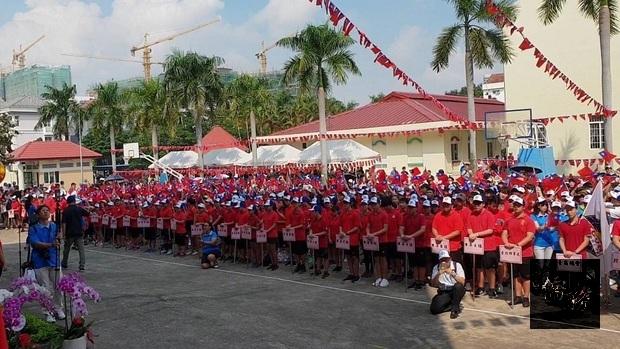 胡志明市僑界升旗慶雙十