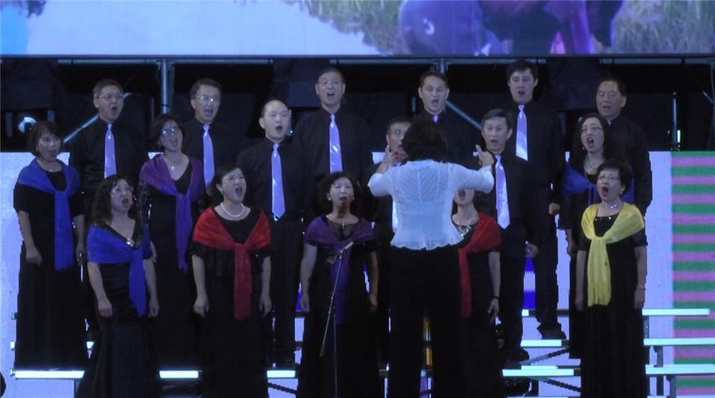 Champion Group of the Presidential Cup Overseas Compatriot Choral Competition Sings the Patriotism of the Overseas Compatriot Community on National Day