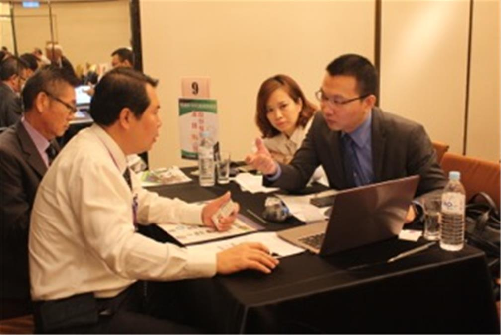 Business opportunity matching discussion meeting