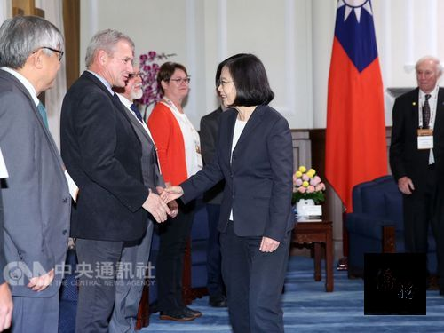 Taiwan remains strong in research and global talent: president