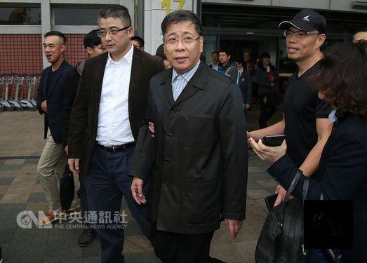 Shanghai Municipal Taiwan Affairs Office Director Li Wenhui (center)/Photo courtesy of CNA