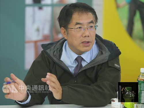 Tainan Mayor-elect Huang Wei-che/Photo courtesy of CNA
