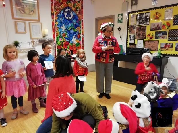 倫敦華夏中文學校歡慶耶誕