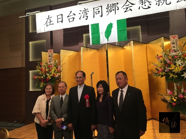 游錫堃在日分析臺灣的挑戰與機會