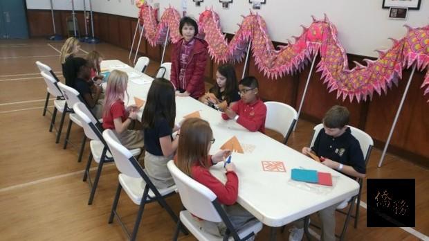亞特蘭大文教中心接待洋師生 導覽台灣文化