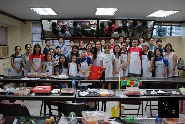菲華青年服務團研習DIY美食藝術