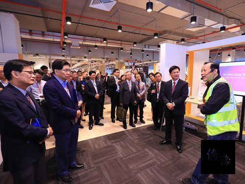 Taichung seeks cooperation with Singapore in logistics services