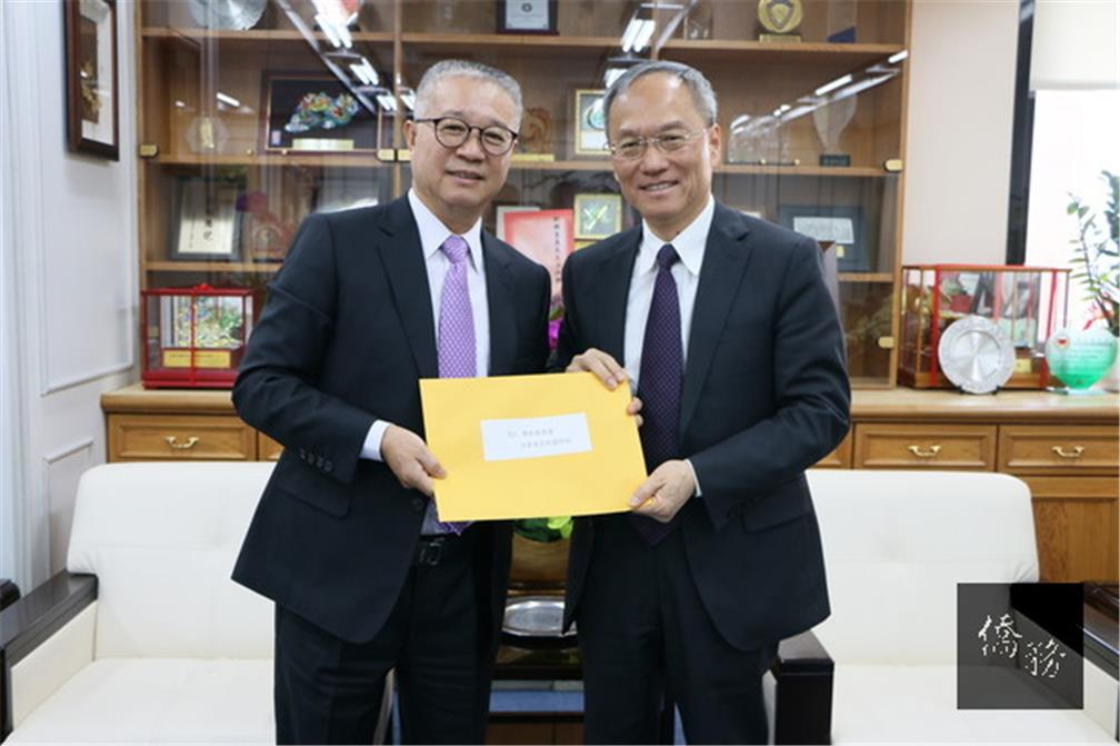 Taiwanese Chamber of Commerce in Latin America Visits OCAC Minister Wu Hsin-hsing Expresses Gratitude for Supporting Taiwan