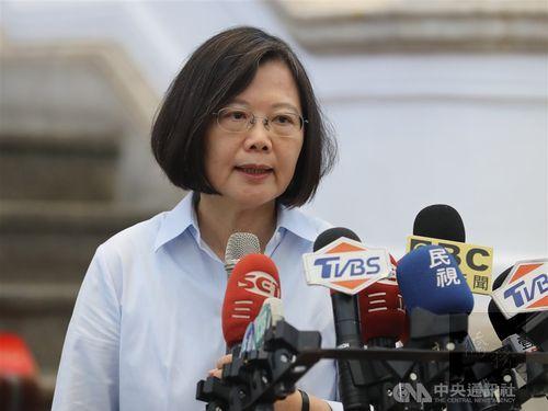 President Tsai Ing-wen / Photo courtesy of CNA